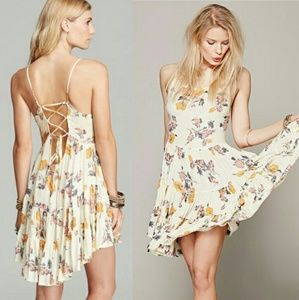 Intimately Free People Circle of Flowers Slip Dres